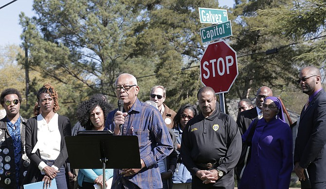 Civil rights activist Hollis Watkins wants Jackson citizens to be conscious of their actions to make a safer city.