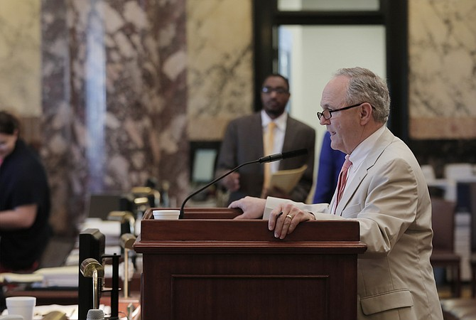 Senate Appropriations Chairman Sen. Buck Clarke, R-Hollandale, asked the Senate to recommit several budget bills on Monday morning before the midnight deadline to pass the state's budget.