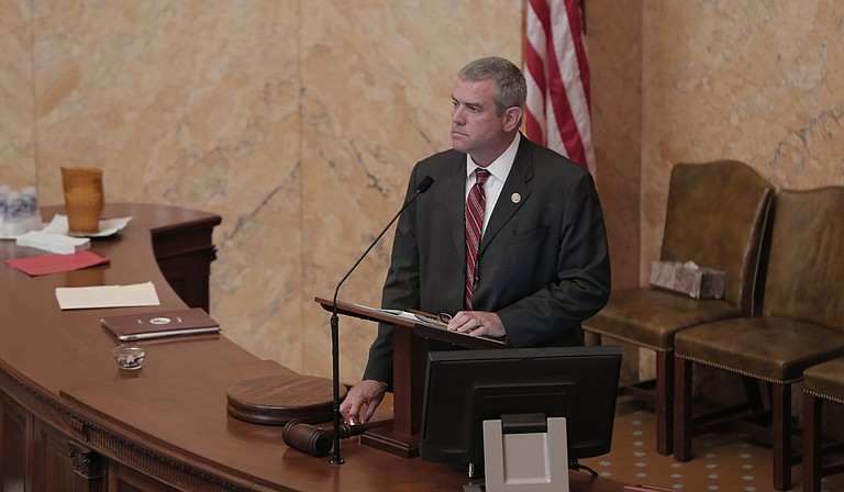 House Speaker Philip Gunn (pictured) expressed disappointment that the campaign-finance and election-reform bill died this session, while Lt. Gov. Tate Reeves says he believes in unlimited campaign contributions and disclosure.