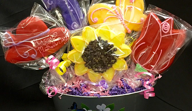 For Mother's Day, Broad Street Baking Company will have sugar-cookie bouquets. Photo courtesy Broad Street Baking Company