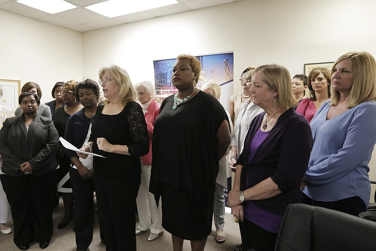 On May 11, the Mississippi Coalition Against Domestic Violence held a press conference to express disappointment on SB 2418's failure.