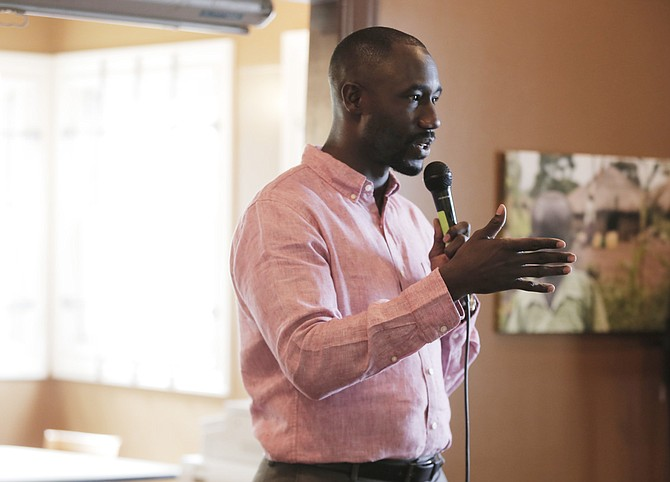 Mayor Tony Yarber announced for the first time publicly that he will run again, joining the now short list of confirmed candidates for the 2017 race.