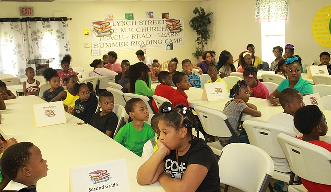 The Teach, Read, Learn - Summer Reading Camp is in its fourth year of operation. Photo courtesy Lynch Street C.M.E. Church