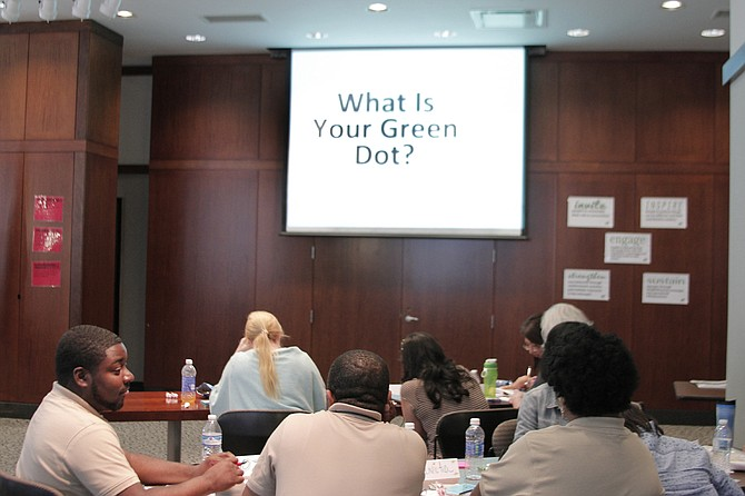 Green Dot, etc. trainers held a four-day training for staff from Mississippi's domestic-violence shelters to learn how to prevent violence and instruct communities throughout the state in becoming active bystanders.