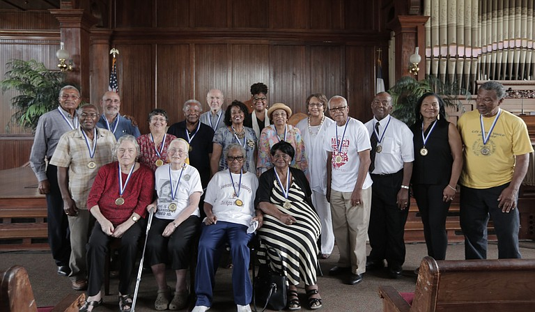 Participants in the 1966 March Against Fear were honored on Saturday June 25 at Tougaloo College.