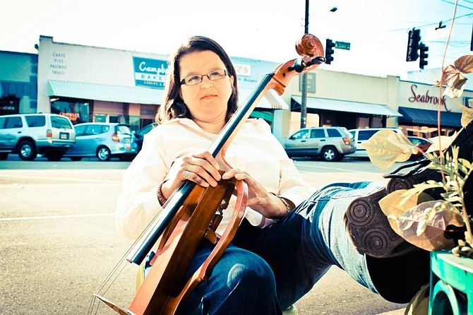 Susan McGee has lived and created art in the Jackson metro area her entire life. Photo courtesy Erin and Emily Daniels