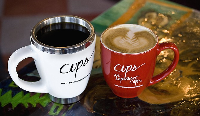Cups is a local student hang-out.