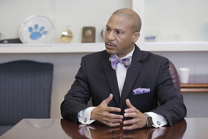 Dr. Cedrick Gray, superintendent of Jackson Public Schools, says his focus is on instilling a sense of urgency and a feeling of being family in JPS employees.