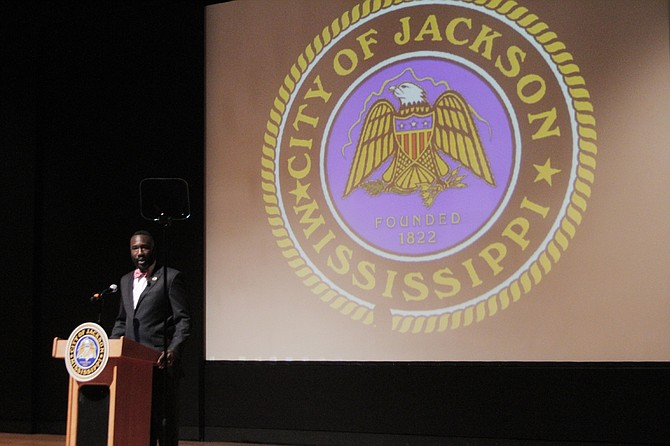 "Mayor Tony Yarber urged the need to build on his ""momentum"" in the coming years during his ""State of the City"" address on Aug. 2."
