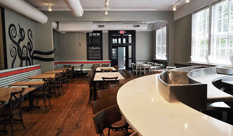 Birmingham, Ala.-based magazine Southern Living recently named Jackson chef Jesse Houston's Saltine Oyster Bar in its 2016 list of the 25 best new restaurants in the South. Trip Burns/File Photo