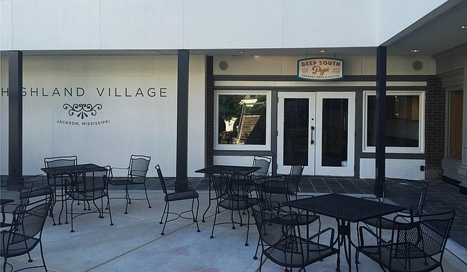 Deep South Pops, an artisanal shop that sells organic ice pops made with local ingredients, will open a new location at Highland Village (pictured) in two weeks. Photo courtesy Emmi Sprayberry