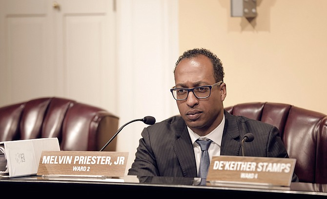 Ward 2 Councilman Melvin Priester Jr. proposed an amendment to the City's budget that outlined across-the-board cuts to travel as well as $100,000 cuts to both the mayor's office and chief administrator's office.