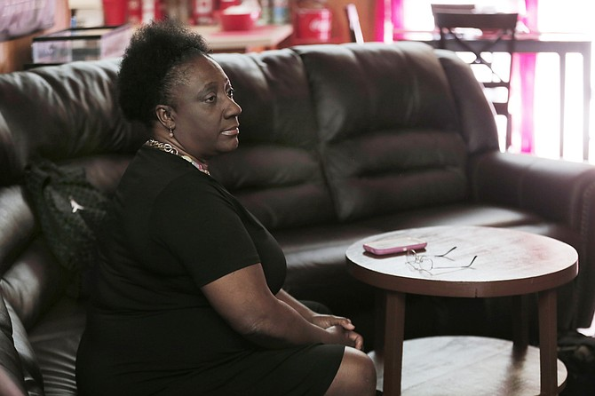Patricia Phillips, one of 28 employees laid off by the City of Jackson, worries about how she will meet her obligations until she finds another job.