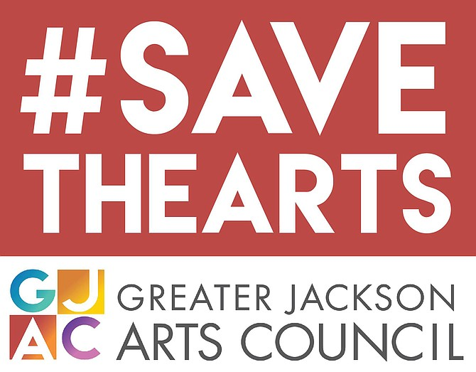 Community supporters posted this logo to their social-media pages in the wake of the news that Jackson planned to defund the Arts Council.