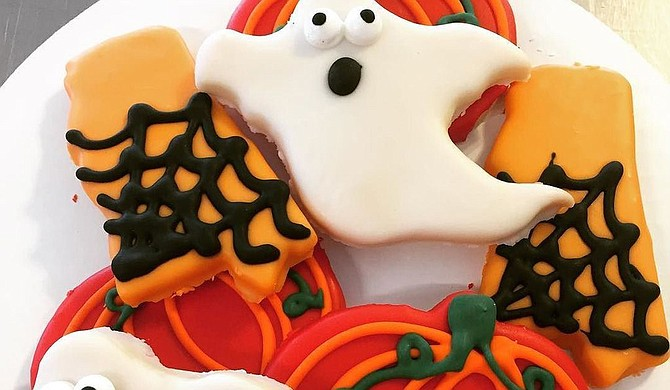 Campbell's Bakery will have Halloween teacakes this year. Photo courtesy Campbell's Bakery