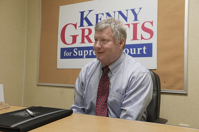 Mississippi Court of Appeals Judge Kenny Griffis has been on the bench for 14 years and decided to run for the Mississippi Supreme Court in District 1 when the seat was up for re-election this year.