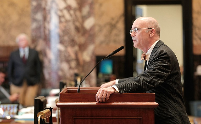 """Sen. Hob Bryan, D-Amory, says EdBuild's involvement with the state's funding formula is """"terrifying."""""""