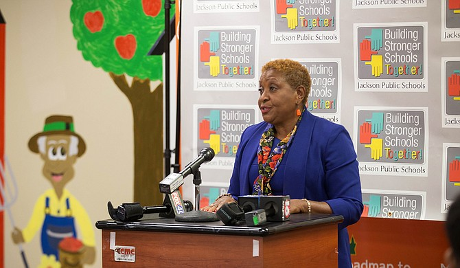 Beneta Burt, the president of the Jackson Public Schools Board of Trustees, announced that Dr. Freddrick Murray, the chief academic officer of the JPS high school division, will serve as the interim superintendent of the district.