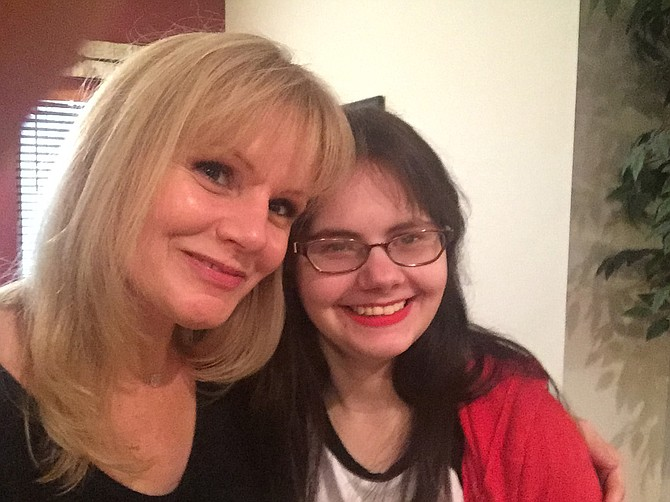 Angela Douglas (left) and her daughter Mikayla Rogers (right) pose for a selfie. Douglas works on the Gulf Coast as an advocate for Disability Rights Mississippi. Photo courtesy Angela Douglas