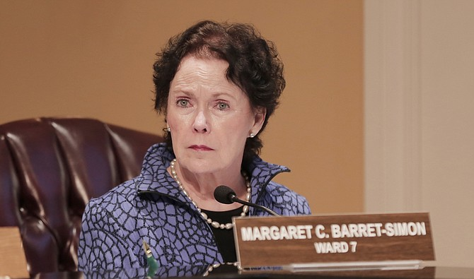 Ward 7 Councilwoman Margaret Barrett-Simon is a long-time representative of Ward 7, but is vacating her seat in the 2017 elections.