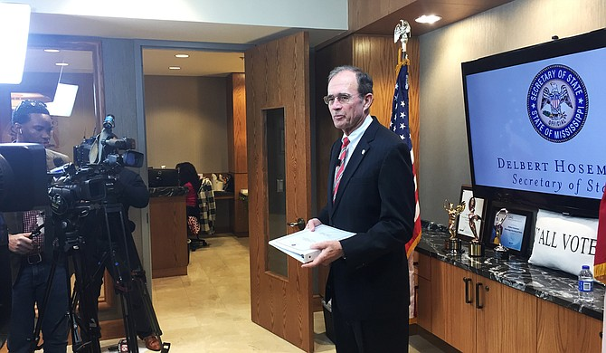 Mississippi Secretary of State Delbert Hosemann announced the turnout for the 2016 presidential election on Nov. 21 and listed several counties in the state that would be under review for voting practices, including Madison County.