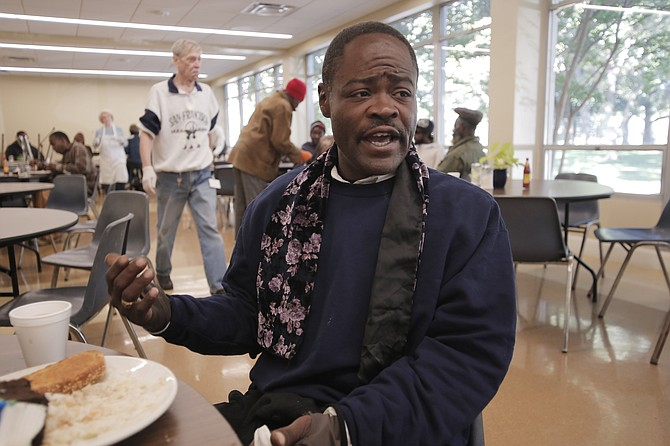 Quincy Carpenter, whose youngest children go to school in Jackson, says that programs to help the homeless give him needed consistency.