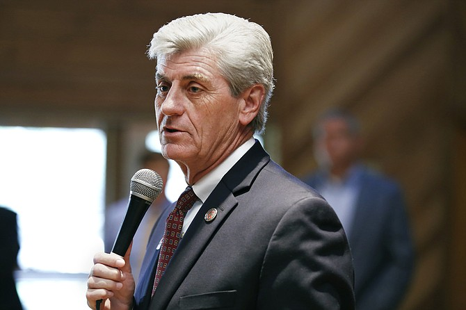 Gov. Phil Bryant (pictured) and John Davis, the executive director of the Mississippi Department of Human Services, appealed the U.S. District Court's ruling to strike down House Bill 1523.