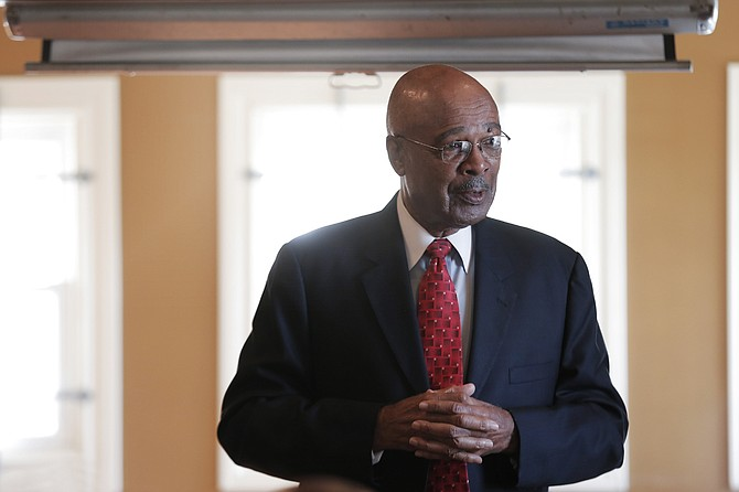 Dr. Rod Paige, former U.S. Secretary of Education, will serve as interim president of Jackson State University until July of next year.