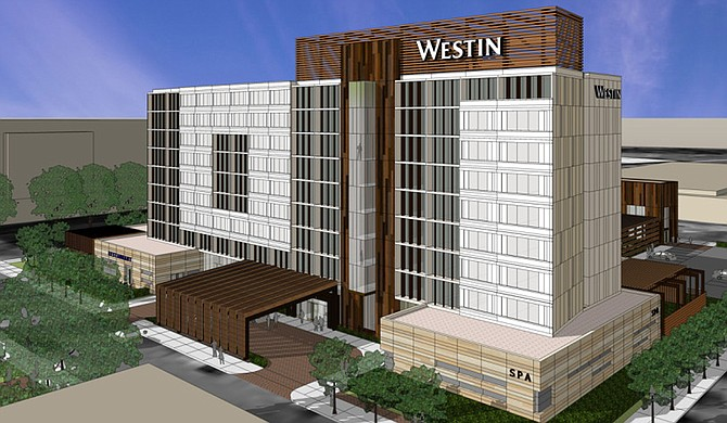 The Hinds County Board of Supervisors approved an interlocal agreement to prevent any conflicts with the different entities involved in the sewage renovation project of West Street from the State Capitol to the new Westin Hotel. Photo courtesy ESG Architects
