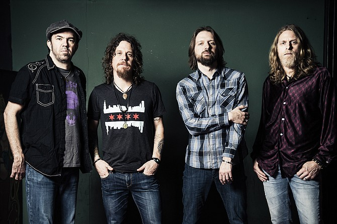 (Left to right) Joe Winters, Tod Bowers, Jeff Massey and Eric Saylors of The Steepwater Band perform Friday, Dec. 16, at Martin's Restaurant & Bar. Photo courtesy The Steepwater Band