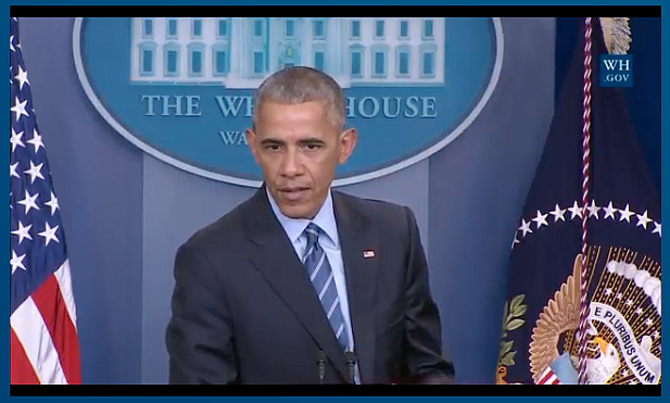 Screenshot/WhiteHouse.gov: President Obama in final 2016 press conference.