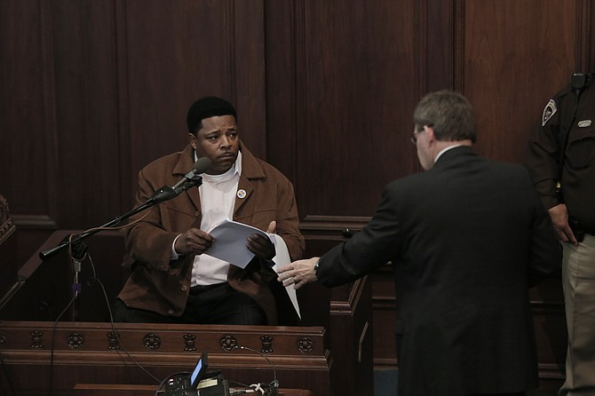 "Robert ""Too Sweet"" Henderson testified this morning that he arranged payments from three different individuals during Hinds County Robert Shuler Smith's campaign in 2015."