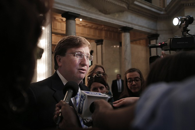 Lt. Gov. Tate Reeves said on Tuesday that he is still opposed to unilateral action of the governor or the Legislature to change the state flag—even ahead of Mississippi's bicentennial celebration.