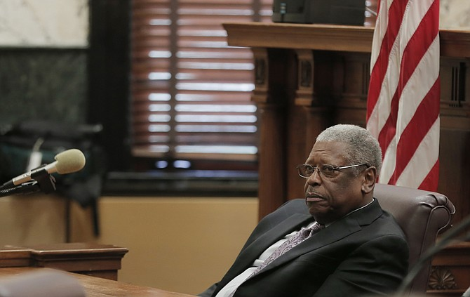 Senate Transportation Chairman Willie Simmons, D-Cleveland, told business leaders that the State needs to take action like Ronald Reagan did and figure out a plan to pay for the state's crumbling infrastructure.