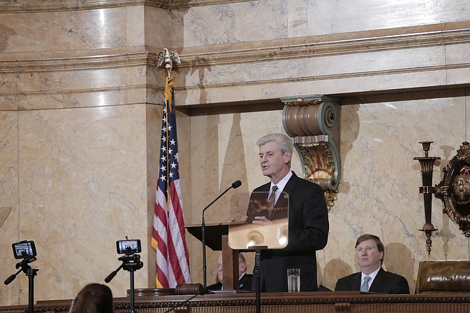 Gov. Phil Bryant gave his sixth State of the State address on Tuesday, Jan. 17, in the Mississippi House of Representatives.