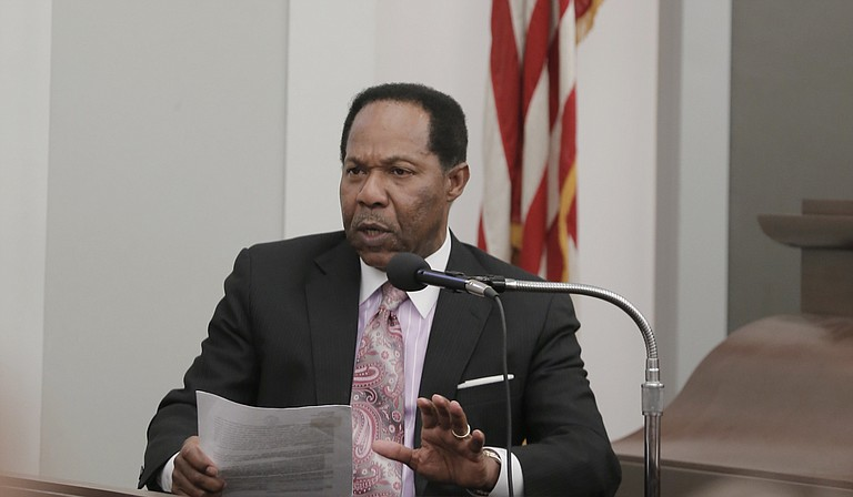 Downtown Jackson Partners attorney Robert Gibbs testified this morning as the second witness for the defense in the trial of DJP President Ben Allen for alleged embezzlement of public funds.
