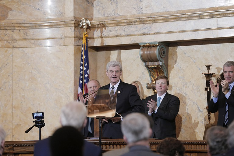 Gov. Phil Bryant emptied his campaign account, donating more than $760,000 to a leadership PAC to help fund politicians he wants to see elected in the future.