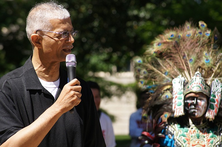 """Then-Ward 2 Councilman Chokwe Lumumba introduced an anti-racial profiling ordinance in 2010 that many say established Jackson as a """"sanctuary city"""" for immigrants. File Photo"""