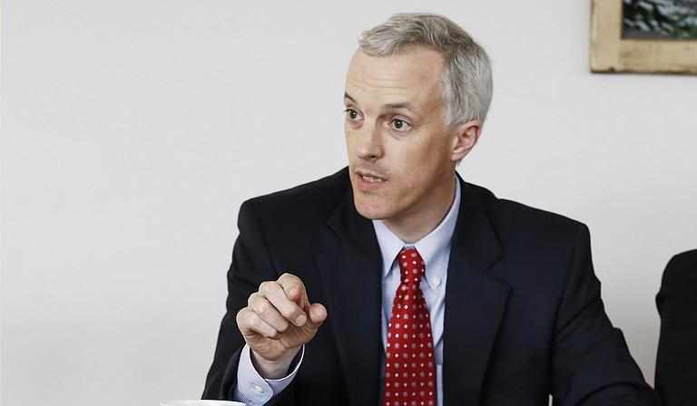 Democratic Sen. David Blount of Jackson objected to sending Mississippi education money across state lines.