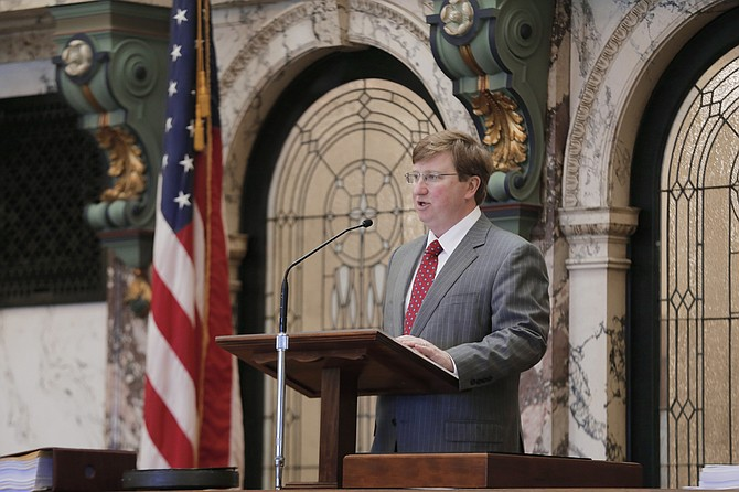 Lt. Gov. Tate Reeves says he opposes the bill because it defies decades of U.S. Supreme Court precedent saying states can't tax sales from companies without an in-state presence. He also says the measure would divert $40 million in existing taxes already collected in Mississippi.
