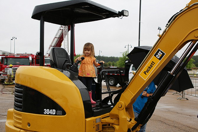 Touch a Truck Jackson lets children climb all over heavy machinery and other equipment. They love it. Photo courtesy Touch a Truck