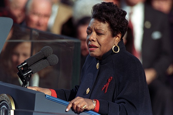 """""""Maya Angelou: And Still I Rise"""" is the first feature documentary about the famed writer. Photo courtesy William J Clinton Presidential Library"""