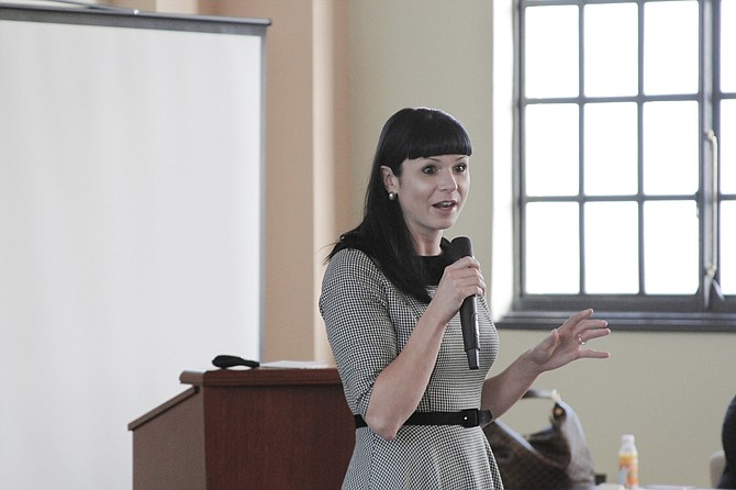 Catherine Hoke, the chief executive officer of Defy Ventures, plans to partner with the Mississippi Department of Corrections to bring her re-entry entrepreneurship program to the state's prisons.