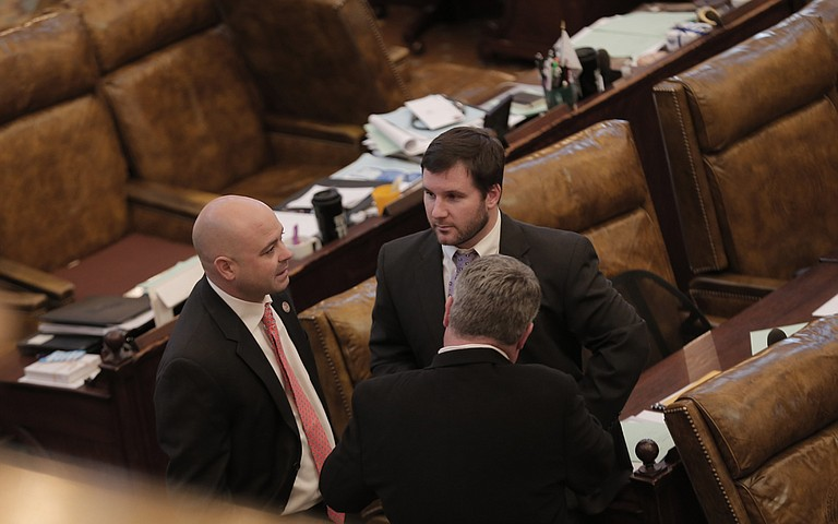 It is conference week at the Legislature, meaning lawmakers from the House (pictured) and the Senate have to has out differences and come out with final legislation both chambers can agree on.