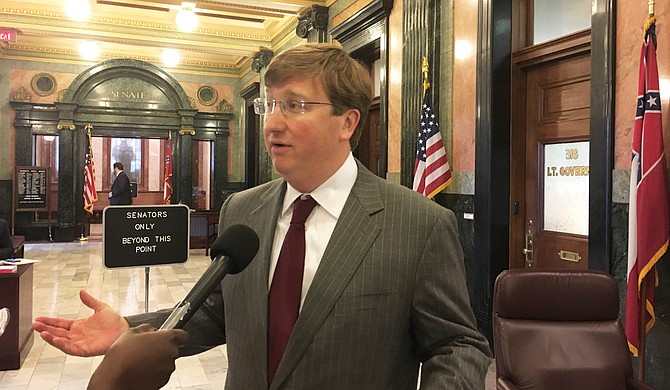 Lt. Gov. Tate Reeves called the Mississippi House's actions on the Department of Transportation's budget bills an attempt to raise Internet sales tax.