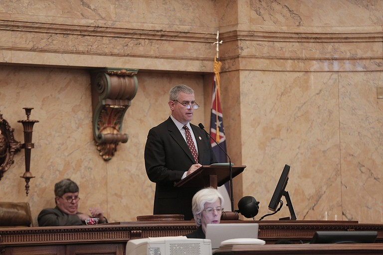 Deadline day morphed into a showdown between House Speaker Philip Gunn (pictured) and Lt. Gov. Tate Reeves over road funding.