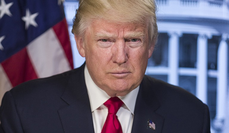 President Donald Trump is facing new questions about political interference in the investigations into Russian election meddling following reports that White House officials secretly funneled material to the chairman of the House intelligence committee. Photo courtesy Whitehouse.gov