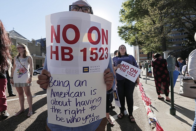Several protests broke out after the Mississippi Legislature passed and the governor signed House Bill 1523, allowing discrimination of LGBT citizens, in 2016. The 5th U.S. Circuit Court of Appeals heard arguments in the governor's appeal of the overturned law on Monday.