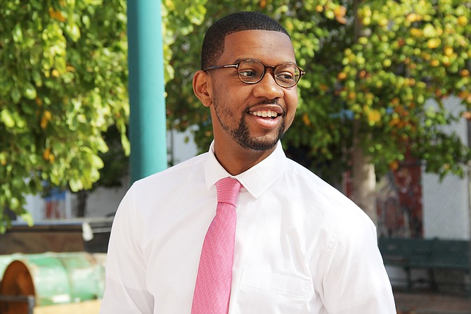 LaDarion Ammons, 25, is running for the open Ward 7 Jackson City Council seat. Photo courtesy LaDarion Ammons