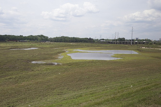 "Representatives pushing the ""One Lake"" project, which will flood parts of the Pearl River and surrounding wetlands (including the area pictured), say their project will have little to no environmental impact on areas downstream."
